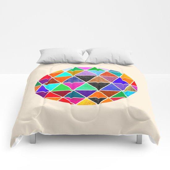 Geodesic 3 Comforters