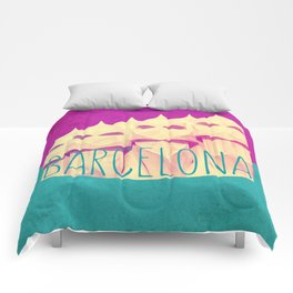 Barcelona Gaudi Paradise Comforters