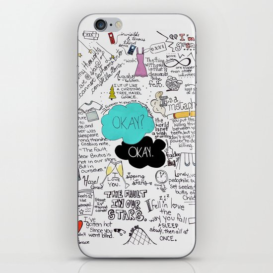 The Fault in Our Stars- John Green iPhone Skin