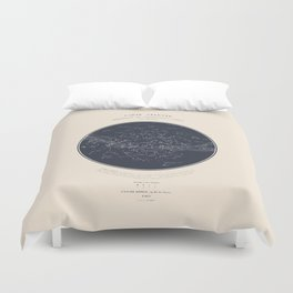Carte Celeste Duvet Cover