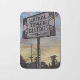 Central Tower District Bath Mat