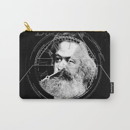 The Time of Marx Dark Carry-All Pouch