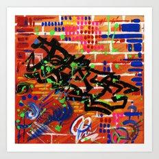 """""""PEACE"""" Art Print"""