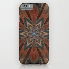 Bushfire Gum Medallion 2 iPhone Case