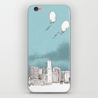 denver iPhone & iPod Skins featuring Denver by Bas van Genugten