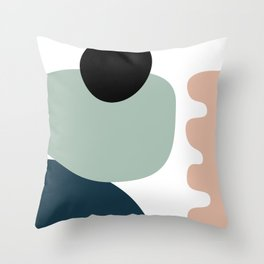Shape study #18 - Stackable Collection Throw Pillow