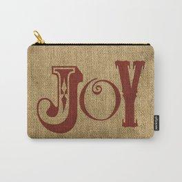 JOY + BURLAP Carry-All Pouch