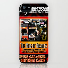 The King of Arcades Card iPhone Case