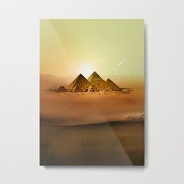 Station Pyramid Day Metal Print