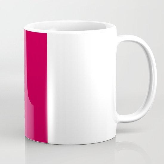 Geometric Rose Mug