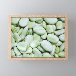 Fava beans Framed Mini Art Print
