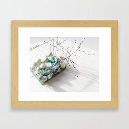 Egg Basket Framed Art Print