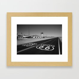 Route 66 Shield 2012 Framed Art Print
