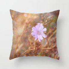 Lilac Charm Throw Pillow