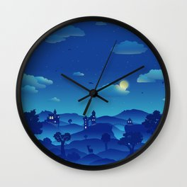 Fairytale Dreamscape Wall Clock
