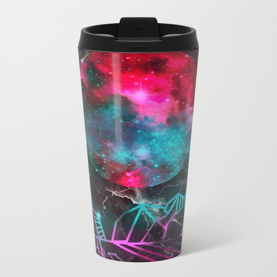 galaxy landscape 3 Metal Travel Mug