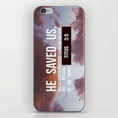 HE SAVED US iPhone & iPod Skin