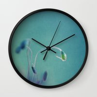 moss Wall Clocks featuring moss by mexi-photos