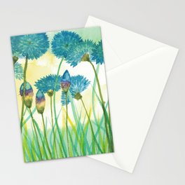 May your cornflowers never fade Stationery Cards