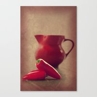 moulin rouge Canvas Prints featuring Rouge by Tanja Riedel