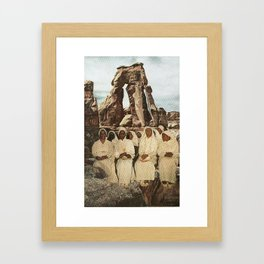 seance Framed Art Print