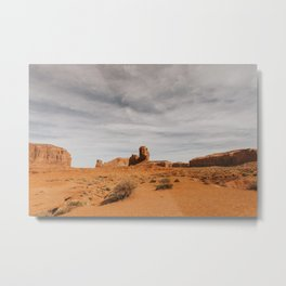 "Monument Valley, ""Elephant Butte"" Metal Print"