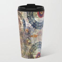 AMASONDO PATCHWORK PATTERN ART Travel Mug