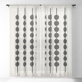 Abacus Sheer Curtain