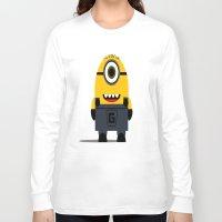 minion Long Sleeve T-shirts featuring Minion by Ian Zandi