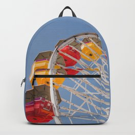 California Wheelin - Santa Monica Pier Backpack