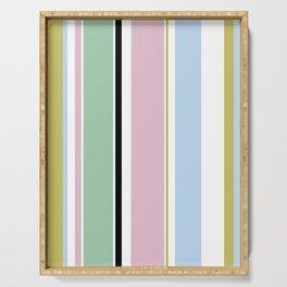 Pastel Stripes Serving Tray