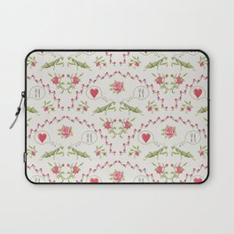 The mantis girl is hungry of love Laptop Sleeve