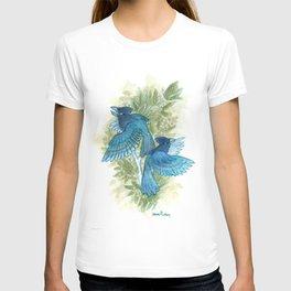 Blue Jays and Tea Olive Plant T-shirt