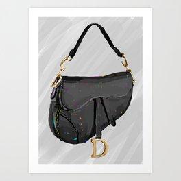 Saddle Bag Art Print