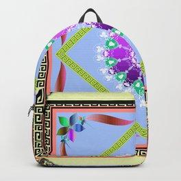 Yellow Batique Backpack