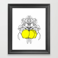 Meyer Lemon Framed Art Print