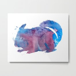 Chinchilla Metal Print