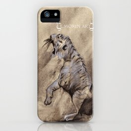 Heart of the Tiger iPhone Case