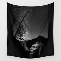 elk Wall Tapestries featuring Black Elk by ASTROLABE LABS