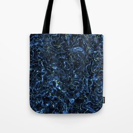 Blue charge Tote Bag