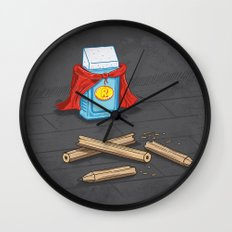 Super Rubber Wall Clock