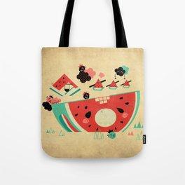 Watermelon Playground Tote Bag