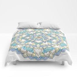 Pastel Bloom Comforters