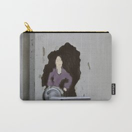 The Door knob Lady Carry-All Pouch