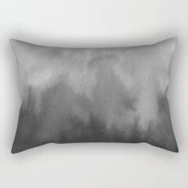 Black gradient Rectangular Pillow