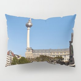 Autumnal Feeling at the River Spree in Berlin Pillow Sham