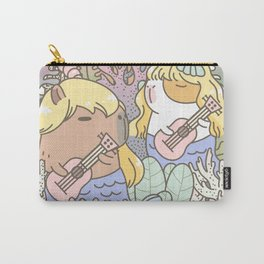 Rodent Mermaid Duo Carry-All Pouch