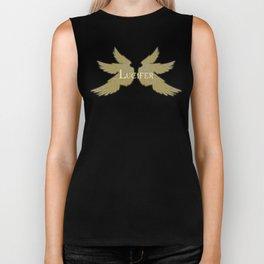 Lucifer with Wings Light Biker Tank