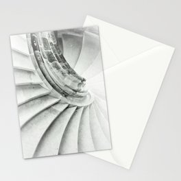 Sand stone spiral staircase 009 Stationery Cards