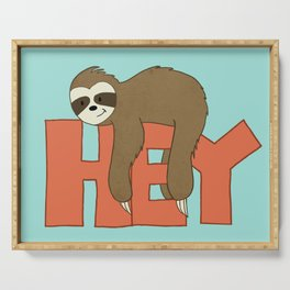 Hey Sloth! Serving Tray